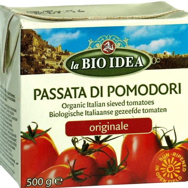 Βιολογικός Τοματοπολτός Passata 500 ml Bio La Bio Idea