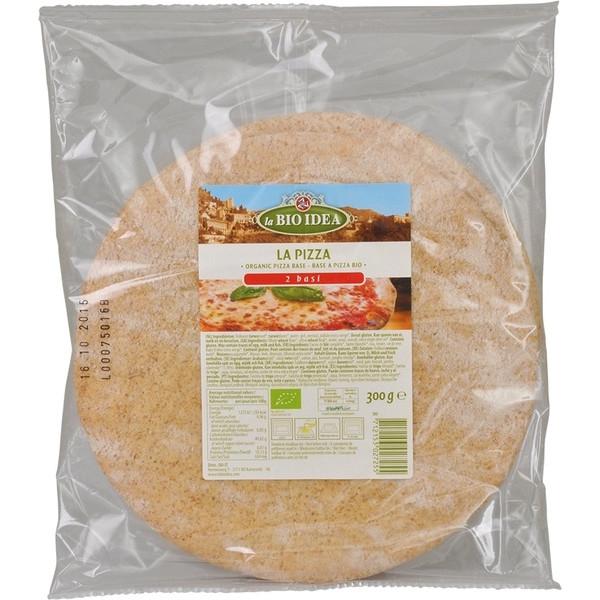 Βιολογική Βάση για Πίτσα 300 γρ. Bio 2 τεμ. La Bio Idea