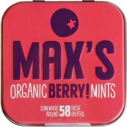 Βιολογικές Καραμελίτσες Berry Mints Βio 58 τεμάχια Max's