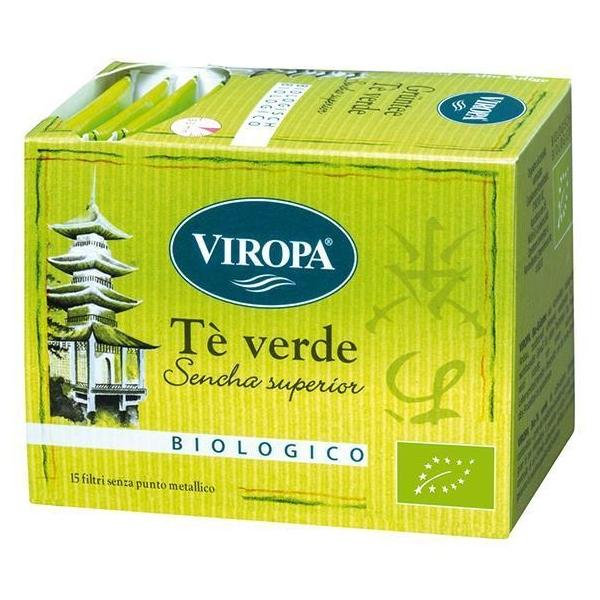Βιολογικό Τσάι Πράσινο Κίνας 15 φακελάκια Bio, Viropa