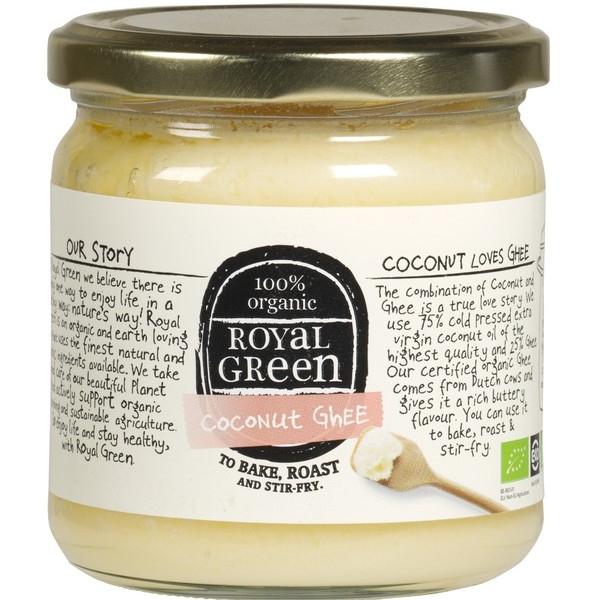Βιολογικό Βούτυρο Καρύδας με Ghee 325 ml Royal Green