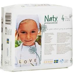 Οικολογικές Βρεφικές Πάνες Νο4, από 7 ως 18 κιλά, 27 τεμάχια, Naty