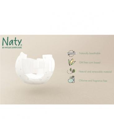 Βρεφικές Πάνες Νο2, Οικολογικές, για Βρέφη 3-6 κιλά, 34 τεμάχια, Naty
