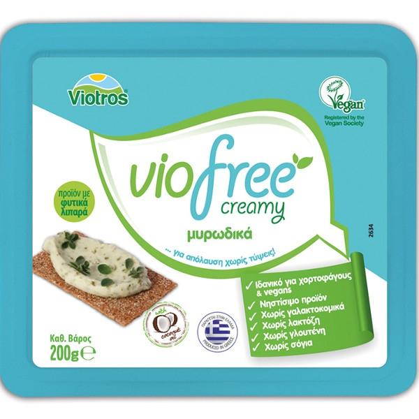 Φυτικό Τυρί Κρέμα με Μυρωδικά Creamy Viofree 200γρ., Ελληνικό, Viotros