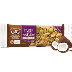 Βιολογική Μπάρα με Καρύδα & Σοκολάτα 40γρ Bio Taste of Nature