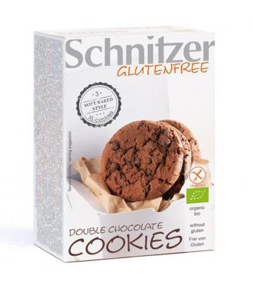 Βιολογικά Μπισκότα Cookies Χωρίς Γλουτένη 105 γρ. Bio Schnitzer