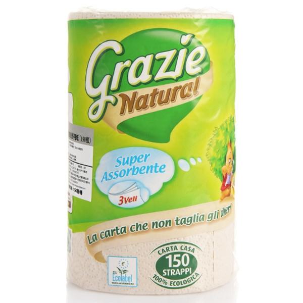 Χαρτί Κουζίνας 1 Ρολλό Γίγας, Grazie Natural Lucart