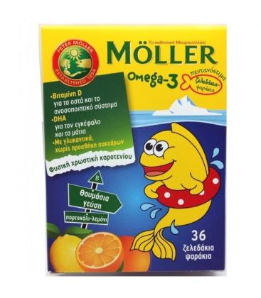 MOLLERS Ω-3 ΖΕΛΕΔΑΚΙΑ 36ΤΕΜ NATURAL PLUS