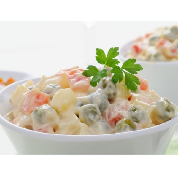 Ρώσικη Σαλάτα Χύμα, Νηστίσιμη, Vegan, Greenhousebio