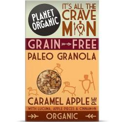 Βιολογική Γρανόλα Paleo με Καραμέλα & Μήλο 350 γρ., Bio Planet Organic
