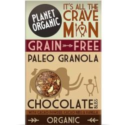 Βιολογική Γκρανόλα Paleo με Κακάο & Βανίλια 350 γρ., Bio Planet Organic