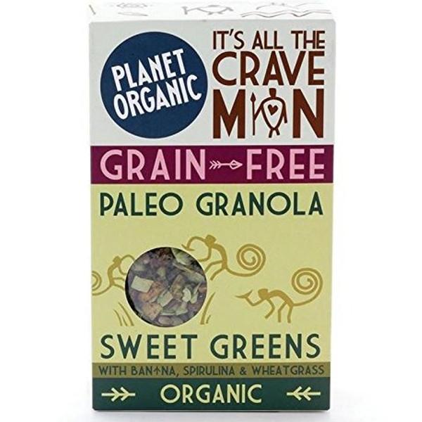 Βιολογική Γκρανόλα Paleo Sweet Greens 350 γρ., Bio Planet Organic