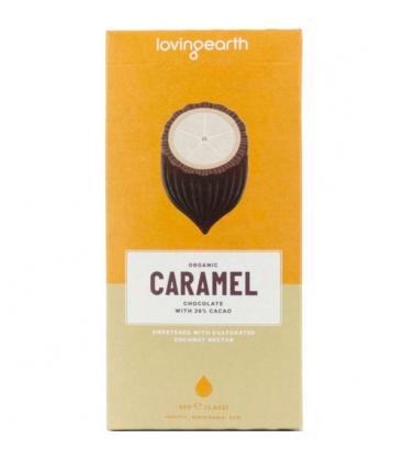 Βιολογική Σοκολάτα Raw Caramel 80 γρ., Bio Loving Earth