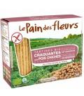 Βιολογικά Κράκερ από Ρεβύθια 150γρ Bio Le Pain De Fleurs