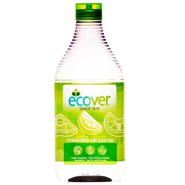 Υγρό Πιάτων με Λεμόνι & Αλόη 500ml, Ecover