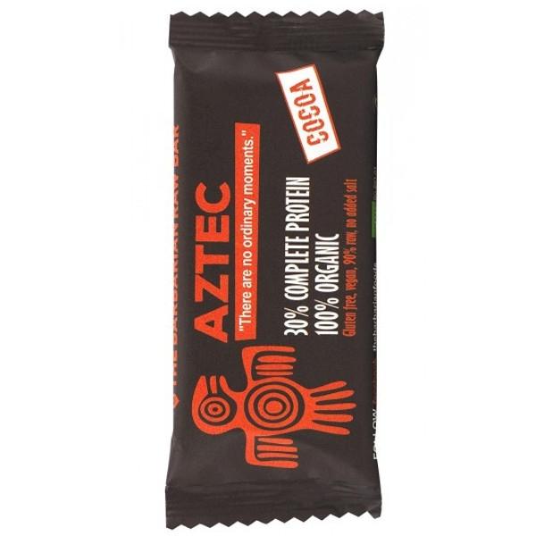 Βιολογική Μπάρα Πρωτεΐνης Aztec με Κακάο 50 γρ. Barbarian