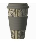 """Κούπα Eco """"Panda"""" από Βιολογικό Μπαμπού 414ml Bamboo Cup"""