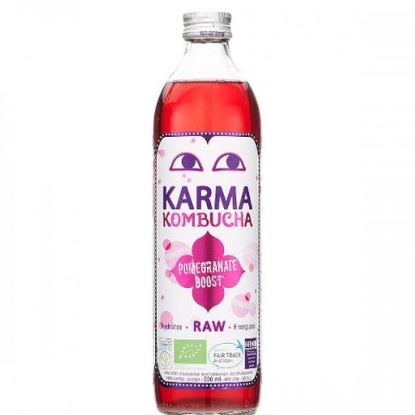 Βιολογικό Ρόφημα Kombucha με Ρόδι 500 ml Βio Karma