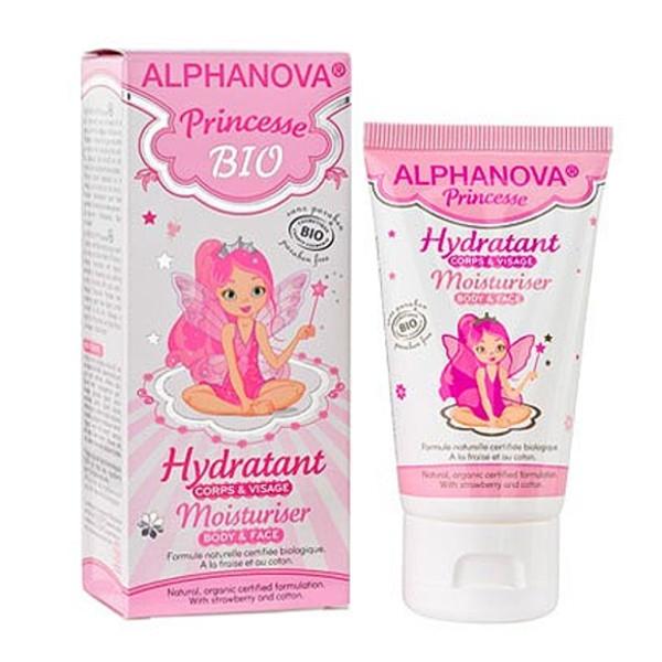Βιολογική Ενυδατική Κρέμα Προσώπου & Σώματος Princesse 50ml Bio Alphanova