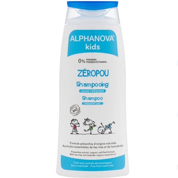 Βιολογικό Παιδικό Σαμπουάν για Συχνό Λούσιμο 200ml Bio Alphanova