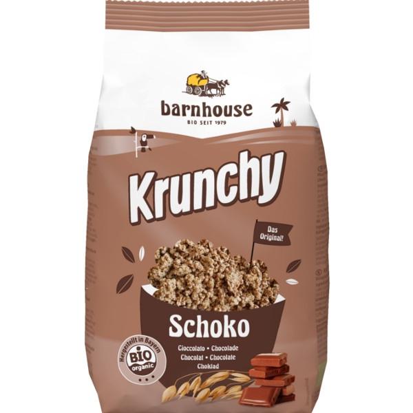 Βιολογικό Μούσλι Krunchy με Σοκολάτα 375 γρ., Bio Barnhouse