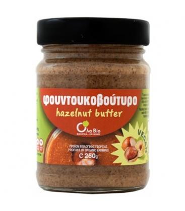 Φουντουκοβούτυρο Βιολογικό, Ελληνικό 250 γρ., Bio Όλα Βιο