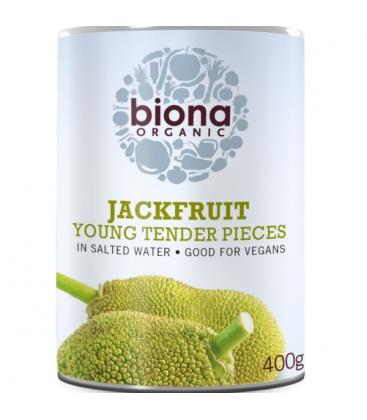 Βιολογικό Jackfruit σε Άλμη 400 γρ., Bio Biona