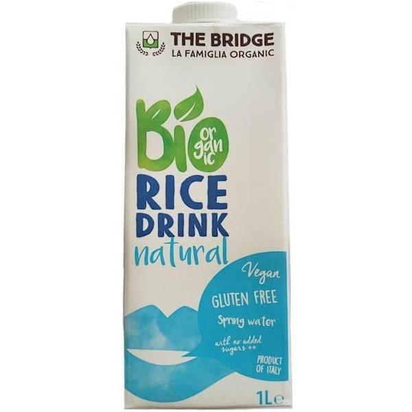 Βιολογικό Ρόφημα Ρυζιού 1 lt Bio The Bridge