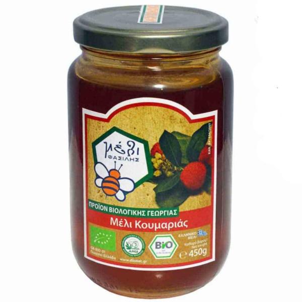 Βιολογικό Μέλι Κουμαριάς 450 γρ., Bio Φασιλής