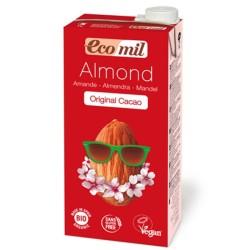 Βιολογικό Ρόφημα Αμυγδάλου με Κακάο Bio 1 λίτρο, Ecomil