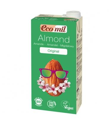 Βιολογικό Ρόφημα Αμυγδάλου με Αγαύη Βιολογικό 1 λίτρο, Ecomil