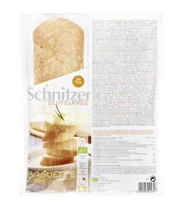 Βιολογικό Ψωμί Μπαγκέτας Καλαμποκιού Classic Bio Χωρίς Γλουτένη 360γρ., Schnitzer