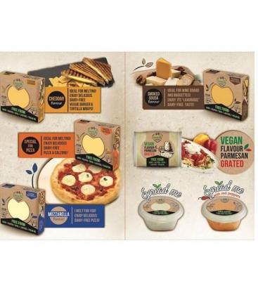 Φυτικό Αλοιφόμενο Τυρί με Τομάτα & Βασιλικό 250 γρ., Greenvie