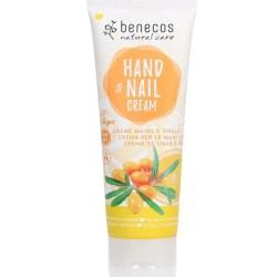 Κρέμα Χεριών & Νυχιών με Βιολογικό Ιπποφαές & Βιολογικό Πορτοκάλι 75ml Benecos