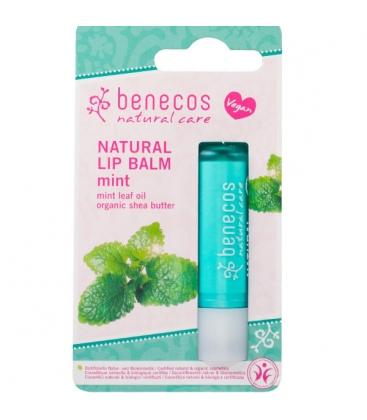 Lip Balm Mint (Μέντα), 4,5 γρ., Bio, Benecos