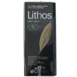 Βιολογικό Ελαιόλαδο 5lt Βιολογικής Καλλιέργειας, Ελληνικό, Lithos