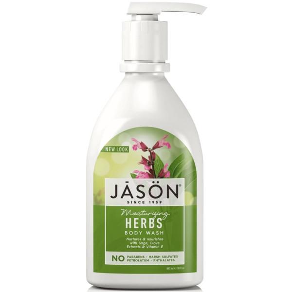 Βιολογικό Αφρόλουτρο με Βότανα για Όλη την Οικογένεια 887ml, Jason