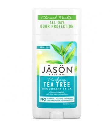 Βιολογικό Αποσμητικό με Tea Tree σε Στικ 70γρ., Jason
