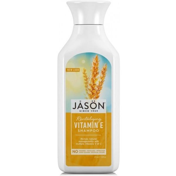 Βιολογικό Σαμπουάν με Βιταμίνες Α, C και E για ταλαιπωρημένα μαλλιά 480ml, Jason