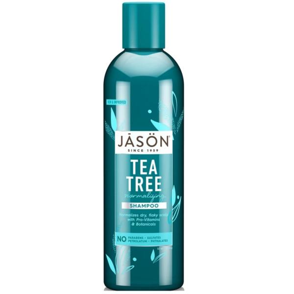 Βιολογικό Σαμπουάν με Tea Tree κατά της Ξηροδερμίας, Πιτυρίδας και Φαγούρας 520ml, Jason
