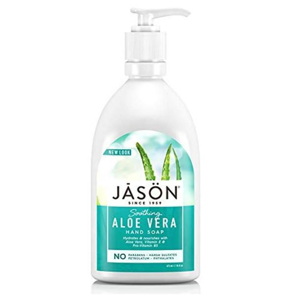 Βιολογικό Κρεμοσάπουνο με Αλόη 480ml, Jason