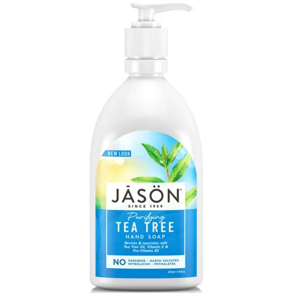 Βιολογικό Κρεμοσάπουνο με Tea Tree 480ml, Jason