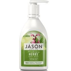 Βιολογικό Κρεμοσάπουνο με Βότανα 480ml, Jason