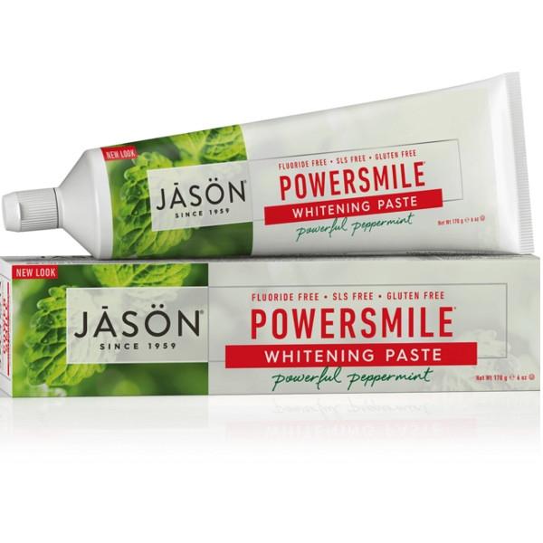 Οδοντόκρεμα (χωρίς φθόριο) για Λεύκανση κατά της Οδοντικής Πλάκας 170ml, Jason