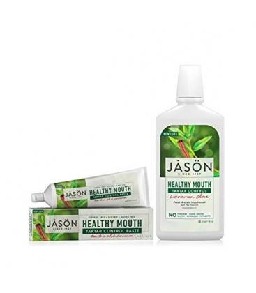 Στοματικό Διάλυμα Healthy Mouth Κανέλα 480ml, Jason
