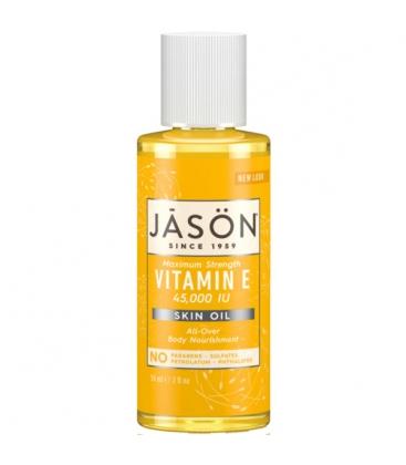 Βιολογική Βιταμίνη Ε Έλαιο 45000 IU 59ml, Jason