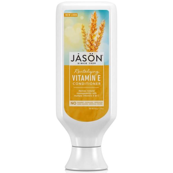 Βιολογική Μαλακτική Κρέμα Μαλλιών με Βιταμίνη Ε 480ml, Jason