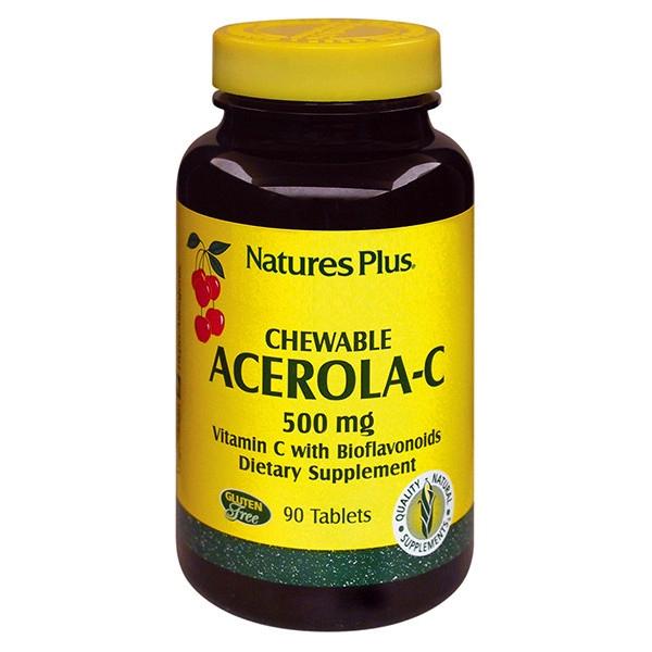 Acerola C Complex 90 ταμπλέτες 500mg, Nature's Plus