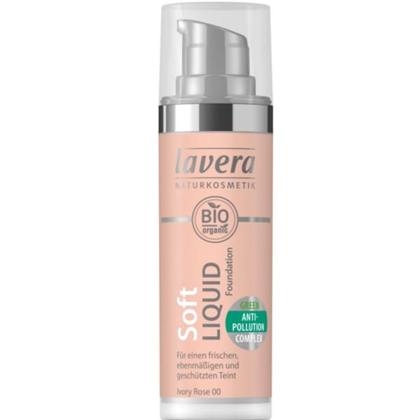 Βιολογικό Υγρό Make-up Soft, Ivory Rose, 30ml, Lavera