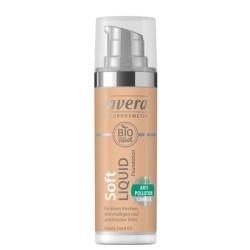 Βιολογικό Υγρό Make-up Honey Sant 03, 30ml, Bio, Lavera